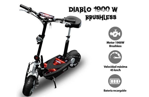 Alquiler de scooters baratas en Barcelona