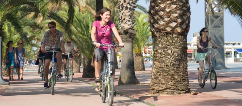 barcelona bike rental barceloneta